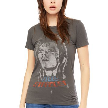David Bowie Ziggy Stardust Band Tee by Goodie Two Sleeves