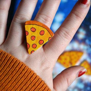 Have Another Pizza My Heart Ring Valentines Day