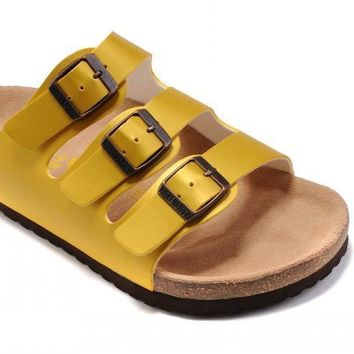 Birkenstock Florida Sandals Yellow