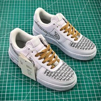 Fear Of God x Nike Air Force Low 1 AF1 FOG VN0A2XR Sport Shoes - Best Online Sale