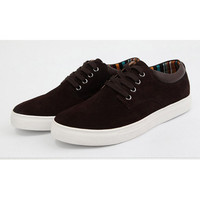 Genuine Suede Skate Style Shoes