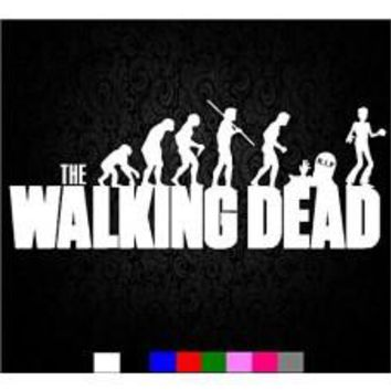 WALKING DEAD zombies blood TV Resident Evil season car sticker decals logo Wall