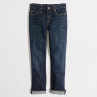 Factory straight and narrow capri jean in indigo wash - denim - FactoryWomen's Pants - J.Crew Factory