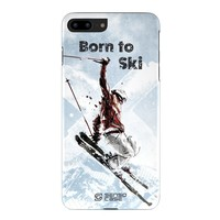 Skiing iPhone Case