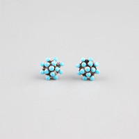 Full Tilt Turquoise Stud Post Earrings Turquoise One Size For Women 24196024101
