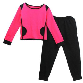 Children Teenagers Kids Jogging Suits Girls Tracksuit School Sets Girls Hoodies & Pants Clothing Sets Kids Sport Suit
