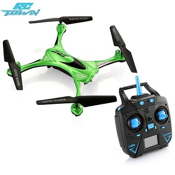 RCtown Remote Control Quadcopter 2.4G 6 Axis Gyro Drone with Headless Mode One Key Auto-Return Quadcopter Green zk30