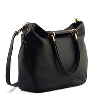 Leather Tote Bag Shoulder Bag Messenger Bag [6583086919]