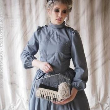 Gloomth- Our Lady of Shadows Gothic Victorian Nurse Dress