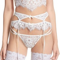 For Love & Lemons 'Kate' High Waist Garter Belt | Nordstrom