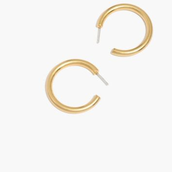Chunky Medium Hoop Earrings