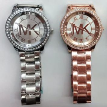 MK women watch masonry watches Men business casual watches F0859-1