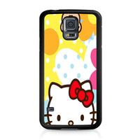 Hello Kity Patterns Samsung Galaxy S5 Case