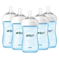 Avent Classic+ Bottles - 5 Pack - Pink or Blue