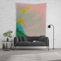 The Burst Wall Tapestry by duckyb