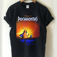 pocahontas disney movie T-shirt Men, Women, Youth and Toddler