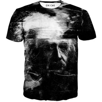 Distorted Einstein T-Shirt
