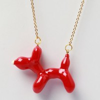 Galibardy Balloon Dog Necklace - Red - Punk.com