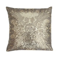 Ludo Sequin Pillow - Gold