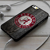 Alabama Crimson Tide Wood iPhone 6 | 6 Plus Case Dollarscase.com