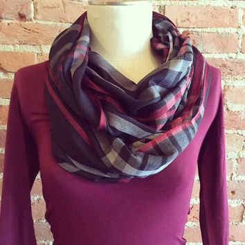 """""""Plaid To See You!"""" Scarf"""