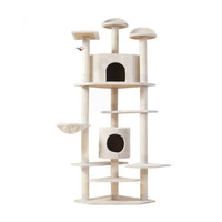 6.5 Ft Cat Tree House