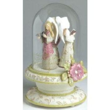 Karen Hahn Three Angels Musical Figurine-4002827