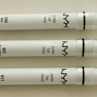 3 NYX Jumbo Eye PENCIL(601,604,611) Black Bean,Milk,Yogurt SET!