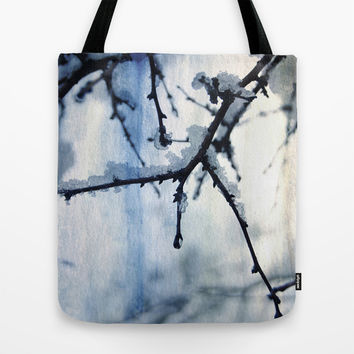 Snow and water Tote Bag by VanessaGF | Society6