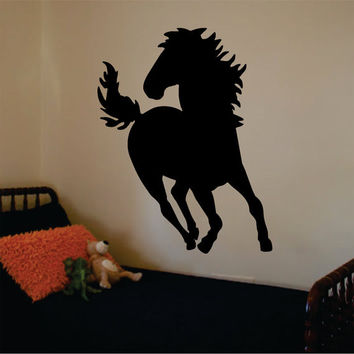 Horse Version 1 Design Animal Decal Sticker Wall Vinyl Decor Art