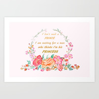 All I want is love Art Print by Color and Color