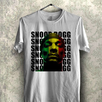Snoop Dogg Rasta Face Jamaica - 11n Unisex Tees For Man And Woman / T-Shirts / Custom T-Shirts / Tee / T-Shirt