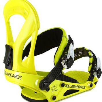 Ride EX Snowboard Bindings - yellow - Snowboard Shop > Snowboard Bindings > Men's Snowboard Bindings