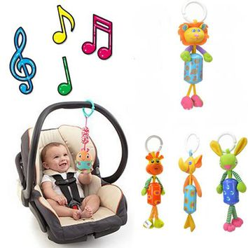 BOHS Musical Baby Stroller Carriage Pushchair Hanger  Aeolian  Wind Jingle Bells  Rattles & Mobiles