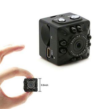 MDIGFS2 SQ10 Mini Camera Small DV Cam 1080P HD IR Night Vision Motion Detection Portable Video Sports Camera for Riding Car Recording