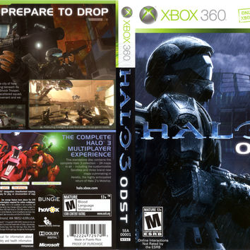 Halo 3: ODST - Xbox 360 (Game Only)