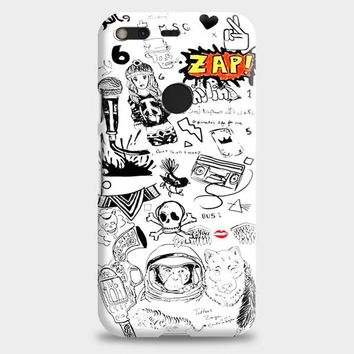 1D Zayn Malik Tattoos Google Pixel XL Case