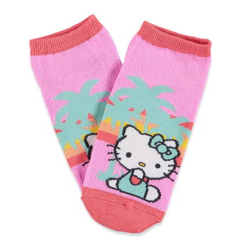 Tropical Hello Kitty Ankle Socks