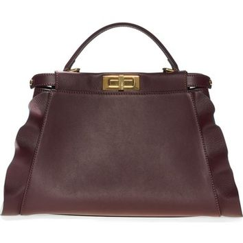 Fendi 'Medium Peekaboo - Wave' Leather Bag | Nordstrom