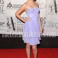 Taylor Swift Lovely Lavender Short Prom/ Cocktail/ Homecoming Dress TCD0214 - TheCelebrityDresses