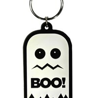 Boo! Ghost Rubber Keychain - Buy Online at Grindstore.com