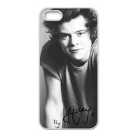 Harry Styles iphone 5 case, One Direction - Harry Styles - Hard Case Cover for iPhone 5 5s