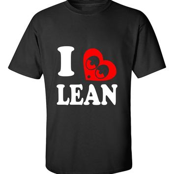 I love Lean I hearth Lean T-Shirt