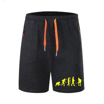 Evolution Golf Men Shorts Gym Athletic Workout Sport Exercise Fitness Sweat Shorts