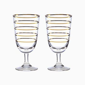Melrose Avenue Wine Glass, Set of Two