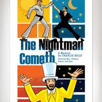 THE NIGHTMAN COMETH Always Sunny In Philadelphia Art Print 11x17 by Rob Osborne