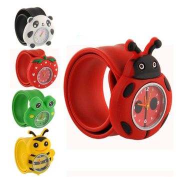 Fun Themed Bendable Rubber Strap Children's Watch
