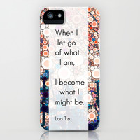 Daily Meditation Quote iPhone & iPod Case by Olivia Joy StClaire