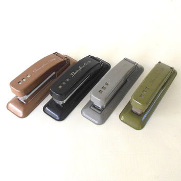 Swingline Stapler(s) Cub School Supply / Desk Accessory Brown Gray Black Green