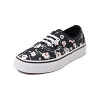 Youth Vans Authentic Floral Skate Shoe